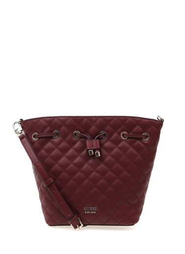 Guess Clutch / El Çantası Bordo